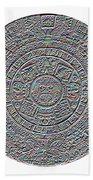 Mayan Calendar Beach Towel