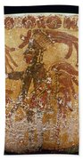 Mayan Priest 700-900 Ad Beach Towel