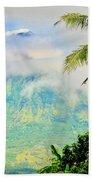 Mayon Volcano Beach Towel
