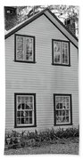 Mayors House Black And White Beach Towel