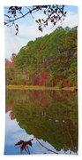 Mayor's Pond, Autumn, #7 Beach Towel