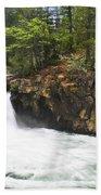 Mccloud Lowerfalls Beach Towel