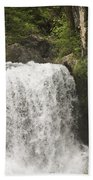 Mccloud Upper Falls Beach Towel