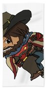 Mccree Usa Beach Towel