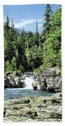 Mcdonald Creek 1 Beach Towel