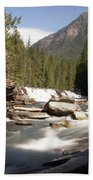 Mcdonald Creek 2 Beach Towel