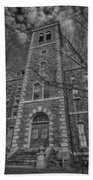Mcgraw Hall - Bw Beach Towel