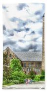 Mcgraw Tower Cornell University Ithaca New York Pa 10 Beach Towel