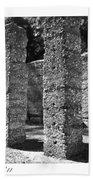 Mcintosh Sugar Mill Tabby Ruins 1825  Beach Towel