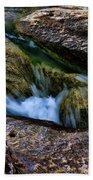 Mckinney Falls State Park-lower Falls 4 Beach Towel