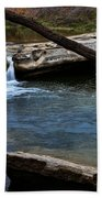 Mckinney Falls State Park-upper Falls 6 Beach Towel