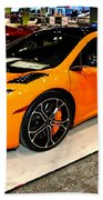 Mclaren 12c Coupe Beach Towel