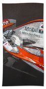Mclaren F1 Alonso Beach Towel