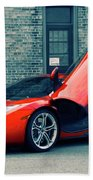 Mclaren Mp4-12c Beach Towel