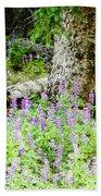 Meadow Lupine Beach Towel