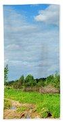 Meadow Road Beach Towel