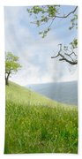 Meadow View Spring Beach Towel