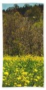 Golden Hay  Beach Towel