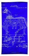 Mechanical Horse Patent Art 1b           Beach Towel