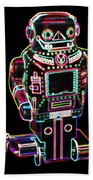 Mechanical Mighty Sparking Robot Beach Towel
