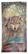 Medeina, Power And Strength Of The Forest Beach Towel