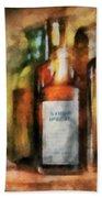 Medicine - Syrup Of Ipecac Beach Towel