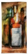 Medicine - Syrup Of Ipecac Beach Sheet