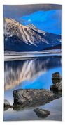 Medicine Lake Beach Towel