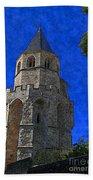 Medieval Bell Tower 2 Beach Towel