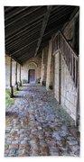 Medieval Church Entrance Beach Towel