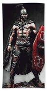 Medieval Warrior - 13 Beach Towel