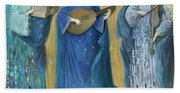 Meditations On The Holy Trinity  After The Music Of Olivier Messiaen, Beach Towel