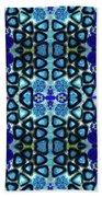 Mediterranean Blue  Beach Sheet