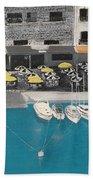 Mediterranean Harbour Beach Towel
