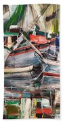 Mediterranean Impression Beach Towel