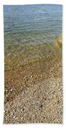 Mediterranean Seascape  Beach Towel