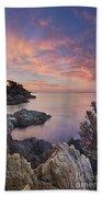 Mediterranean Sunrise Beach Towel
