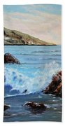 Mediterranean Wave Beach Towel