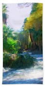 Meeting Place Beach Towel by Snake Jagger