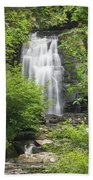 Meigs Falls 1 B Beach Towel