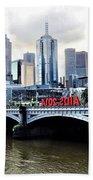 Melbourne 2014 Aids Conference Beach Towel