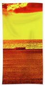 Mellow Yellow Beach Towel