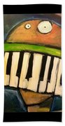 Melodica Mouth Beach Towel
