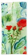 Melody Of Color Beach Towel
