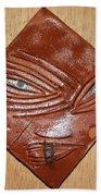 Melting Eye - Tile Beach Towel