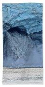 Melting Glacier Beach Towel