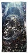 Memento Mori Beach Sheet
