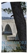 Memorial Bridge Beach Towel