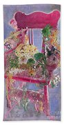 Memories Of Grandmother's Garden Beach Towel