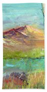 Memories Of Somewhere Out West Beach Towel